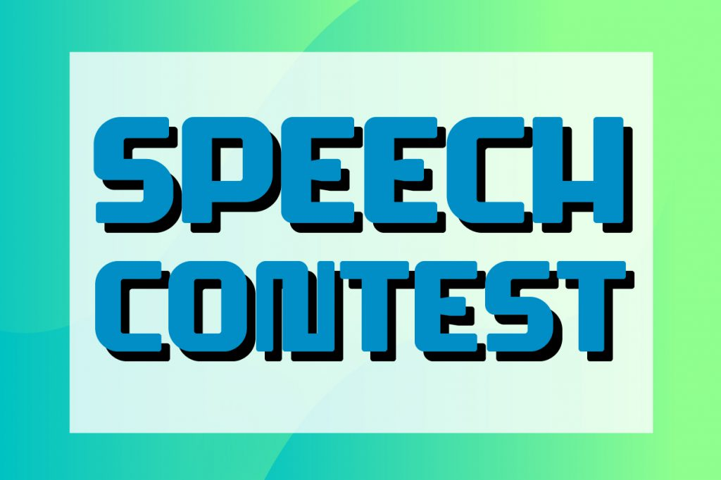 PDS Open-House Speech Contest 2019